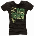 3 x SHRUNKEN HEAD - GIRL SHIRT SCHWARZ
