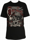 1 x RODS AND BROADS SCHWARZ - STEADY CLOTHING T-SHIRT