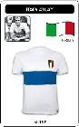 1 x ITALIEN RETRO TRIKOT 1960 WEIß