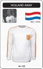 Holland - Retro Trikot