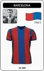 1 x FC BARCELONA RETRO TRIKOT