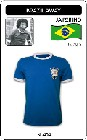 10 x BRASILIEN RETRO TRIKOT 1970 BLAU
