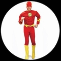 9 x THE FLASH - ROTER BLITZ KOST�M