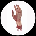 1 x ABGETRENNTE BLUTIGE HAND