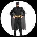 15 x BATMAN KOST�M DARK KNIGHT RISES - 3D MUSKELPANZER DELUXE