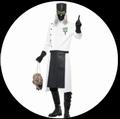 1 x DR. D RANGE KOST�M - VERR�CKTER DOKTOR KOST�M