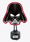 x STAR WARS DARTH VADER NEON LAMPE