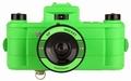 Lomography Sprocket Rocket Kamera - Superpop! Gr�n