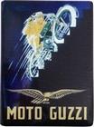 4 x MOTO GUZZI BLECHSCHILD