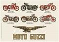 1 x MOTO GUZZI BLECHSCHILD