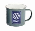 VW BULLI Emaille Tasse - VW Service