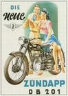 Zündapp DB 201, Motorrad, Zuendapp