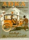 Adka Werbung um 1920 Poster