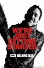 3 x THE WALKING DEAD POSTER NEGAN MIT LUCILLE