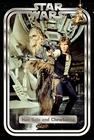 x STAR WARS CLASSIC POSTER HAN AND CHEWIE RETRO