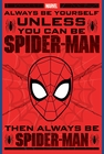1 x SPIDER-MAN ALWAYS BE YOURSELF POSTER COMIC
