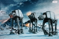 x STAR WARS POSTER AT-AT FIGHTER