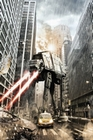 Star Wars Poster Manhattan AT-AT Fighter