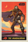 x THE MANDALORIAN - STAR WARS POSTER