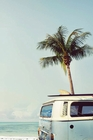 Vintage Camper Van Poster