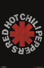 RED HOT CHILI PEPPERS POSTER VINTAGE LOGO