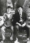 2 x LAUREL AND HARDY