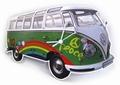 VW Bulli 1 WANDUHR PEACE