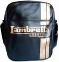 Lambretta Tasche - Streifen schwarz klein