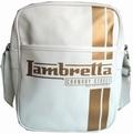 Lambretta Tasche - Streifen weiss klein