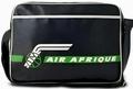 Logoshirt - Air Afrique Tasche - Schwarz - Fake Leather