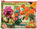 FLOWER ZIPPER TASCHE