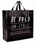BOLD ITALIC SHOPPER