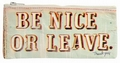 Federm�ppchen Be Nice or Leave