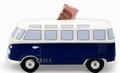 VW Bulli Spardose - Classic Blau