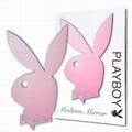 1 x PLAYBOY SPIEGEL MEDIUM PINK GET�NT