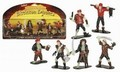SKELETON PIRATES PLAY SET GLOW