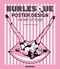 x BURLESQUE POSTER DESIGN - THE ART OF TEASE