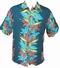 Kalakaua - original Hawaiihemd - Heleconia Panel - Jade