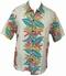 Kalakaua - original Hawaiihemd - Heleconia Panel - Ivory