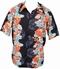 Kalakaua - original Hawaiihemd - Koi Panel - schwarz