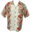 Kalakaua - original Hawaiihemd - Koi Panel - Elfenbein