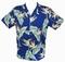Original Hawaiihemd - Bird of Paradise - Royal - Paradise Found