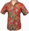 Original Hawaiihemd Magnum Jungle Bird Rot Paradise Found