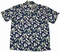 Original Hawaiihemd - Mini Arthurium - Navy Blau - Paradise Found