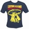 x LIGHTNING BEAT-MAN SHIRT - BLUE
