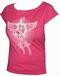 x TOXICO SHIRT - PIN UP ANGEL PINK - GIRLS