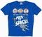 Logoshirt - Muppets - Pigs in Space Shirt - Azurblau