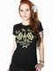 Eat my Dust - Girl Shirt schwarz