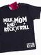 Milk, Mom and RocknRoll - Kids Shirt