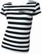 Voodoo Rhythm Stripes Girl-Shirt
